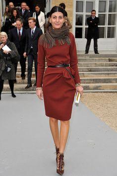 Giovanna Battaglia Photo - Christian Dior: Garden Arrivals - Paris Fashion Week Womenswear Fall/Winter 2012