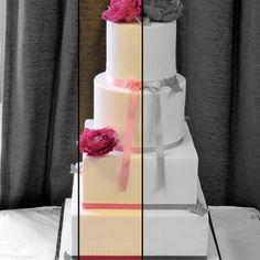 Elegant Ivory Wedding Cake with Peonies Ivory Wedding Cake, Beautiful Wedding Cakes, Wedding Cake Designs, Special Day, Elegant, Peonies, Desserts, Classy, Tailgate Desserts