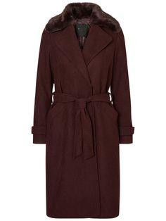 Vero Moda langer Woll-Mantel (89,95 €)