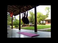 Aerial Yoga by Alessandra Machemer