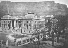 Parliment building - thankfully still there. '15   Cape Town.