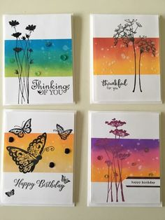 Strength - Card making Distress Ink Techniques, Embossing Techniques, Watercolor Cards, Watercolour, Card Making Techniques, Card Sketches, Sympathy Cards, Paper Cards, Greeting Cards Handmade