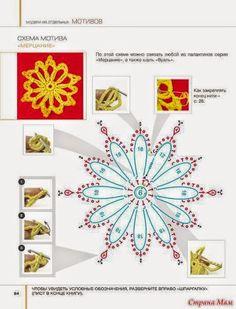 Flores sobre tus hombros / patrones de chal ganchillo | Crochet y Dos agujas - Patrones de tejido
