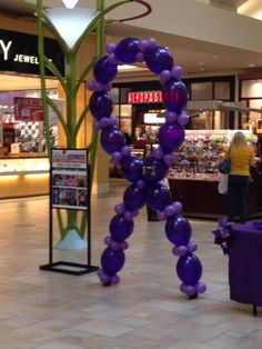 All five Relay For Life events in Mahoning County(NE Ohio) teamed up to Paint the Mall Purple this November. Teams set up to promote the Relay mission, fundraise, and network.  Stores got involved by wearing their purple and changing their displays.