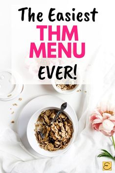 Reusable Trim Healthy Mama Meal Plan To Keep You On Plan - This easy, customizable THM Meal Plan is perfect for beginners or anyone who wants to stay on plan! Easy Meal Plans, Keto Meal Plan, Easy Meals, Healthy Menu Plan, Meal Prep, Trim Healthy Mama Diet, Healthy Fats, Healthy Choices, Healthy Cooking