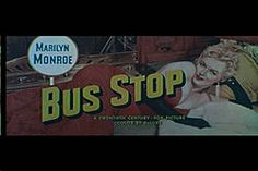 Bus Stop trailer screenshot Betty Field, Alfred Newman, Fox Pictures, Hooray For Hollywood, Bus Stop, Cinematography, Marilyn Monroe, The Twenties, Love Her