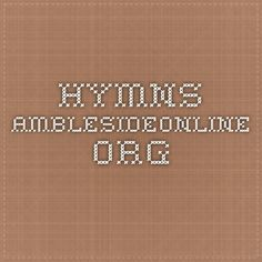 Hymns AmblesideOnline.org