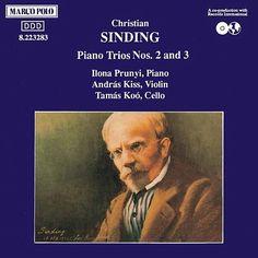SINDING: Piano Trios Nos. 2 and 3-Andras Kiss-Marco Polo
