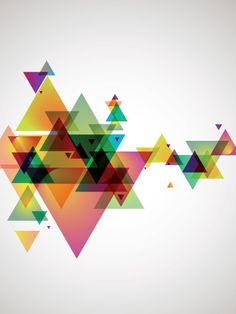 Eazywallz  - Abstract Geometry Wall Mural, $119.00 (http://www.eazywallz.com/abstract-geometry-wall-mural/)