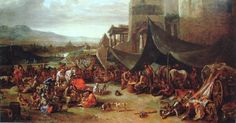 Johannes Lingelbach - Plundering van Rome in 1527