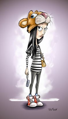 Day 2 Disney Tourist Sketches by T. Kyle Gentry, via Behance