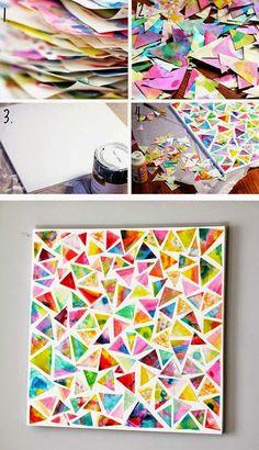 10 Collages para hacer con niños