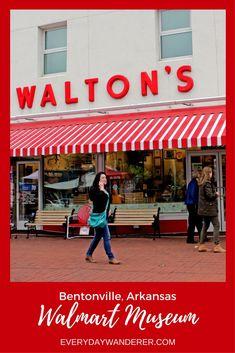 Walmart fan or not, you won't want to miss the amazing story behind the world's biggest company in Bentonville, Arkansas #bentonville #walmart #arkansas #samwalton