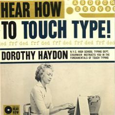 Dorothy Hayden - Hear How to Touch Type! (1961)