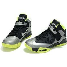 Nike Zoom Zoom LeBron Soldier 6 VI Black/Gray/Green