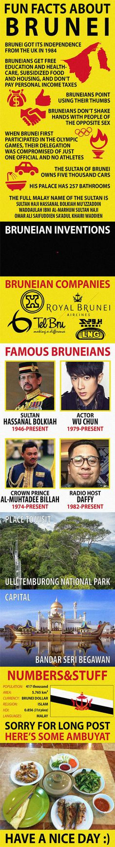 Fun Facts about Brunei