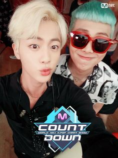 Jin and Rap Monster ❤ MCOUNTDOWN Namjin Selfie, Ep.473 Line up|World No.1 KPOP Chart Show. #BTS #방탄소년단