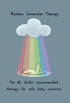 unicorn rainbow écrire sur un personnage lgbt