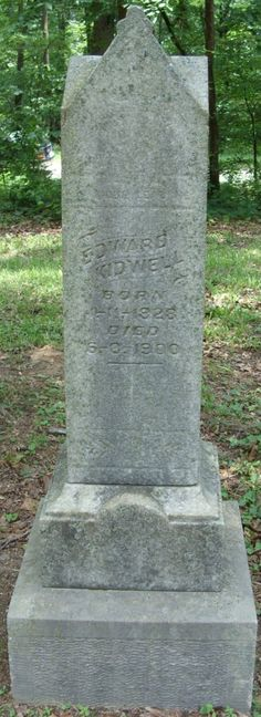 Edward Kidwell (1828 - 1900) - Find A Grave Photos