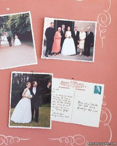 """See the """"Old-Fashioned Postcard"""" in our Guest Book Clip Art gallery"""