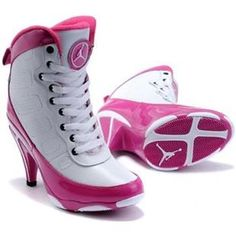 http://www.asneakers4u.com Air Jordan 9 High Heels Pink White