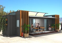 Container Rest Rooms