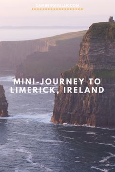 Planning a road trip in Ireland? Mini-journey to Limerick (Ireland): What to do via Backpacking Ireland, Ireland Travel, Europe Travel Tips, European Travel, Travel Advice, Cool Places To Visit, Places To Travel, Limerick Ireland, Ireland Weather