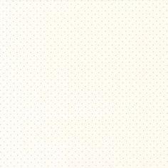 Des petits pois argentés, en relief, sur fond blanc. D'autres coloris vous sont proposés sur notre site.