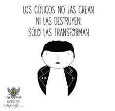 El problema de los cólicos...  #Quotes #Ilustraciones by Nayelly Tenorio