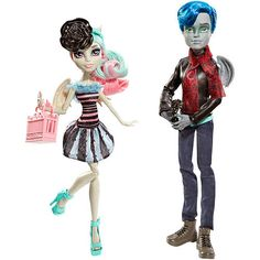 "Monster High 'Love in Scaris' - Garrott du Roque & Rochelle Goyle Fashion Doll 2 Pack -  Mattel - Toys""R""Us"