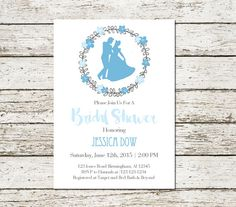 Cinderella Bridal Shower Invitation By Sweetteaandacactus On Etsy Geek Wedding Dream Spring