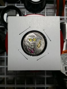 Brian Van Pelt is a Baltimore Maryland Artist whose work include hand carved Hobo Nickels. His Hobo nickels can be purchased on eBay. Click the link to see what's currently available. Hobo Nickel, Baltimore Maryland, Hand Carved, Carving, Van, Artist, Wood Carvings, Artists, Sculptures
