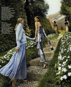 The Winter 2017 Shade Knit Jumper and Filigree Skirt featured in YOU Magazine. World Of Fashion, High Fashion, Sequin Jumpsuit, Latest Instagram, Winter 2017, London Fashion, Strapless Dress, Clothes For Women, Formal Dresses