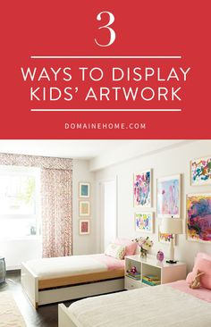 Your children's bright finger paintings and abstract doodles can almost rival the work of top artists and because your kid made it, be invaluable. Preserve their best works of art by framing their paintings and drawings in simple, non-embellished frames to let the vibrant colors and shapes come through.