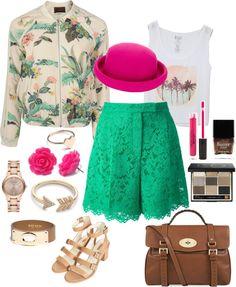 Fashion.Mama.Aquarius.: Floral and Lace for Coachella