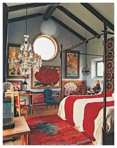 from Oberto Gili book, Home Sweet Home: Sumptuous and Bohemian Interiors