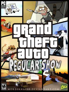 GTA: Regular Show by Mordekhay88.deviantart.com on @deviantART