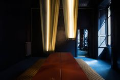 As the beat of the music rhythmically enveloped visitors at DIMORESTUDIO's Salone del Mobile 2016 exhibition at their stunning showroom in Milan's Brera, the featured installations literally glowed between the low lighting, dark walls and labyrinthine passageways of the converted apartment.