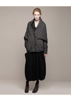 Forme d'Expression / Double Layered Batwing Coat | La Garçonne