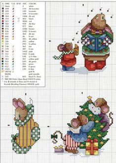Schema punto croce Decorazione 4g