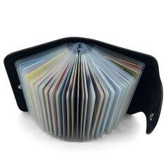 Superisparmio's Post Porta Carte Credito  Porta Carte di Credito Pelle per Uomo Donna - 26 Slot in 3 colori  A solo 9.56   http://amzn.to/2zHT3dq