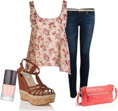 """""""Fab Floral"""" by symone-rey on Polyvore"""