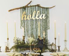 Holla Tablescape. Lo