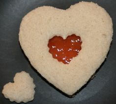 Valentine's Day Treats that contain no red dye.