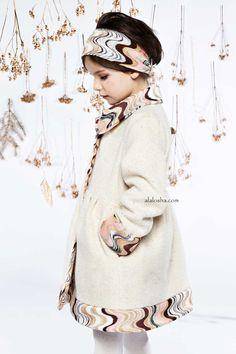 ALALOSHA: VOGUE ENFANTS: The new Missoni Girls' Winter 2015 collection evoke little nymphs and woodland fairies