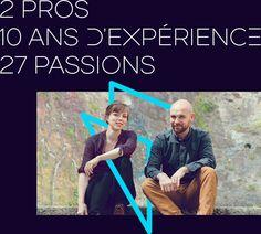 2 pros, 10 ans d'expérience Marianne Scricke et Guillaume Thibord