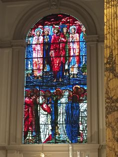 Stained Glass Church, Stained Glass Windows, Birmingham Cathedral, Birmingham Uk, Edward Burne Jones, Church Windows, The Masterpiece, Aesthetic Wallpapers, Cathedrals
