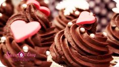 Sacher Cupcakes - Sweet and Easy