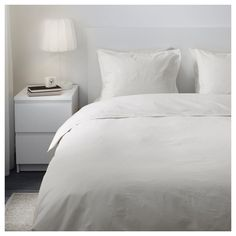 IKEA - ÄNGSLILJA Duvet cover and pillowcase(s) white