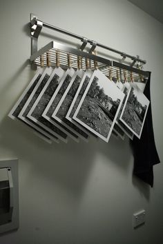 film hanging darkroom photographer - Google Search